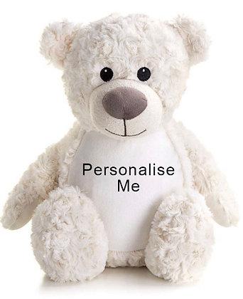 Personalised Teddy Bear – Cream