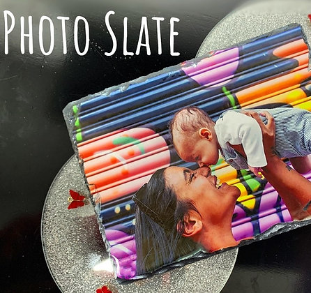 Personalised Photo Slate