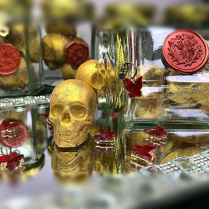 Skull Luxury Wax Melts Jar