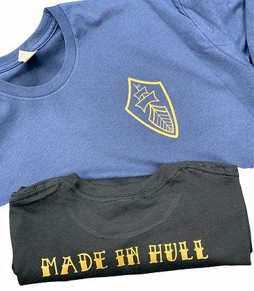Made in Hull Range - T-Shirt -  Ship