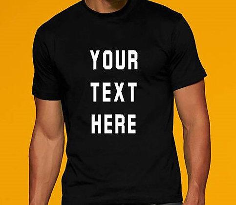 High Quality Unisex Custom T-Shirt Printing