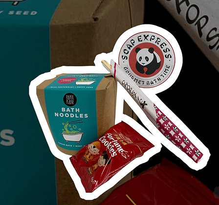 Bath Noodles Gift Bag