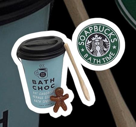 Bath Choc Gift Bag