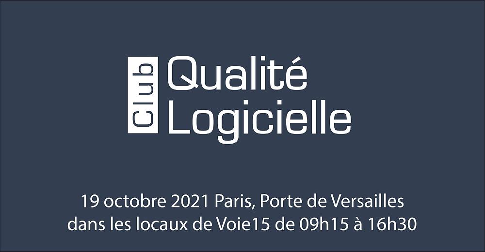 Club Qualité Logicielle 2021
