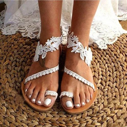 Summer Women Beach Flats Sandals
