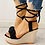 Thumbnail: Casual Platform Fashion Sweet Bow Summer Ankle-Wrap Women Shoes Woman Sandals