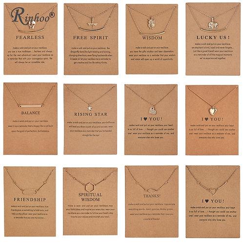 RINHOO Fashion Animal Necklace