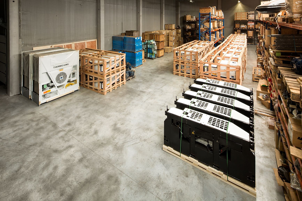 ContainerID antwerp Depot, genset, clip-on, side-mount, center-mount, reefer units