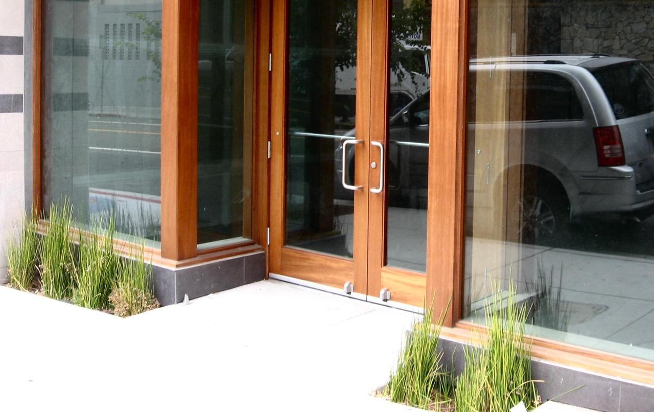 wood storefront