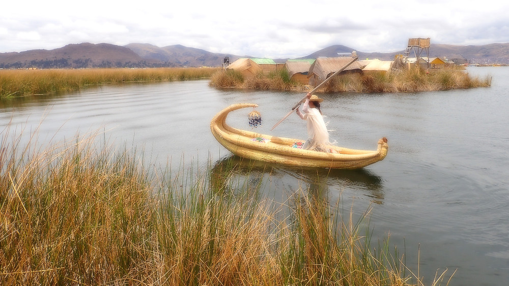 At Lake Titicaca, the Uros Community are adopting compost toilet systems to promote ecological sanitation and Lake water quality