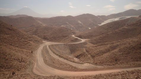 The road to Arequipa