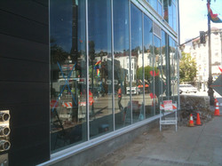 Expensive insulated glass protected