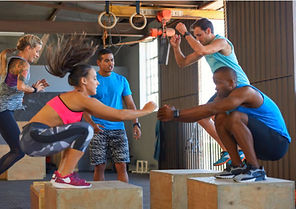 Small Group Bootcamp working out