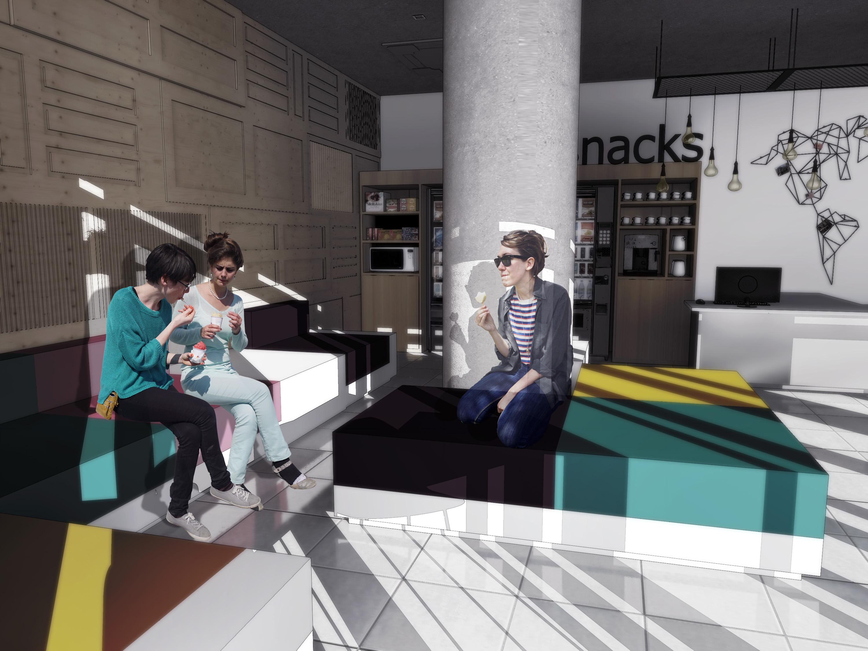 Hotel Ibis Budget Rio de Janeiro Baumann Arquitetura - Lobby 02
