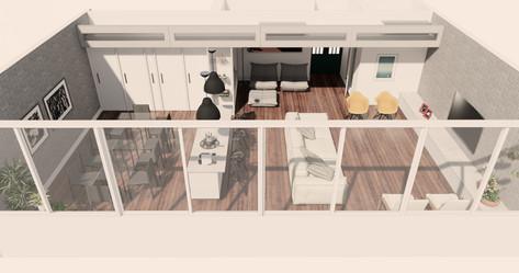 Apartamento em Copacabana Projeto de Arquitetura e Reforma Baumann Interiores 01