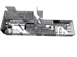 Hotel Ibis Budget Rio de Janeiro Baumann Arquitetura - Lobby e Restaurante