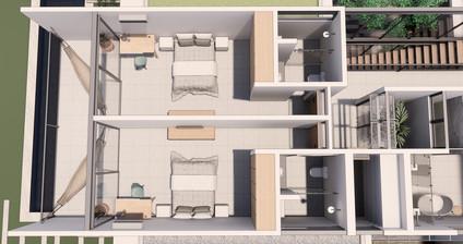 3D Sketchup Projeto Casa Barra Baumann Arquitetura Interiores (2).jpg