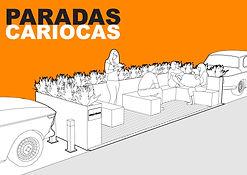 Paradas Cariocas - Parklet Rio de Janeiro