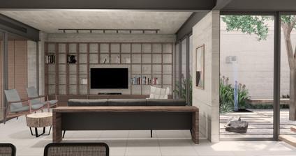 3D Sketchup Projeto Casa Barra Baumann Arquitetura Interiores (12).jpg