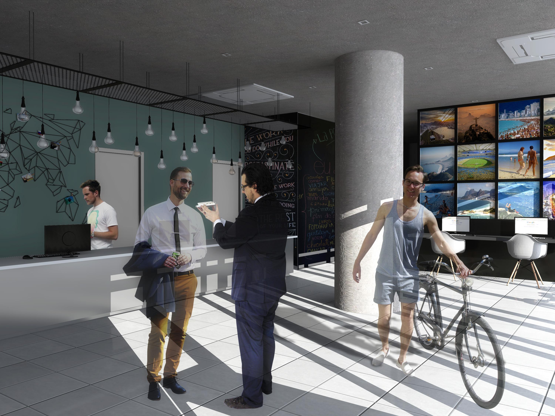 Hotel Ibis Budget Rio de Janeiro Baumann Arquitetura - Lobby 01