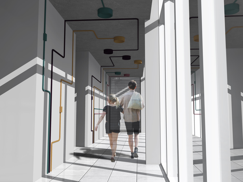 Hotel_Ibis_Budget_Rio_de_Janeiro_Baumann_Arquitetura_-_Circulação