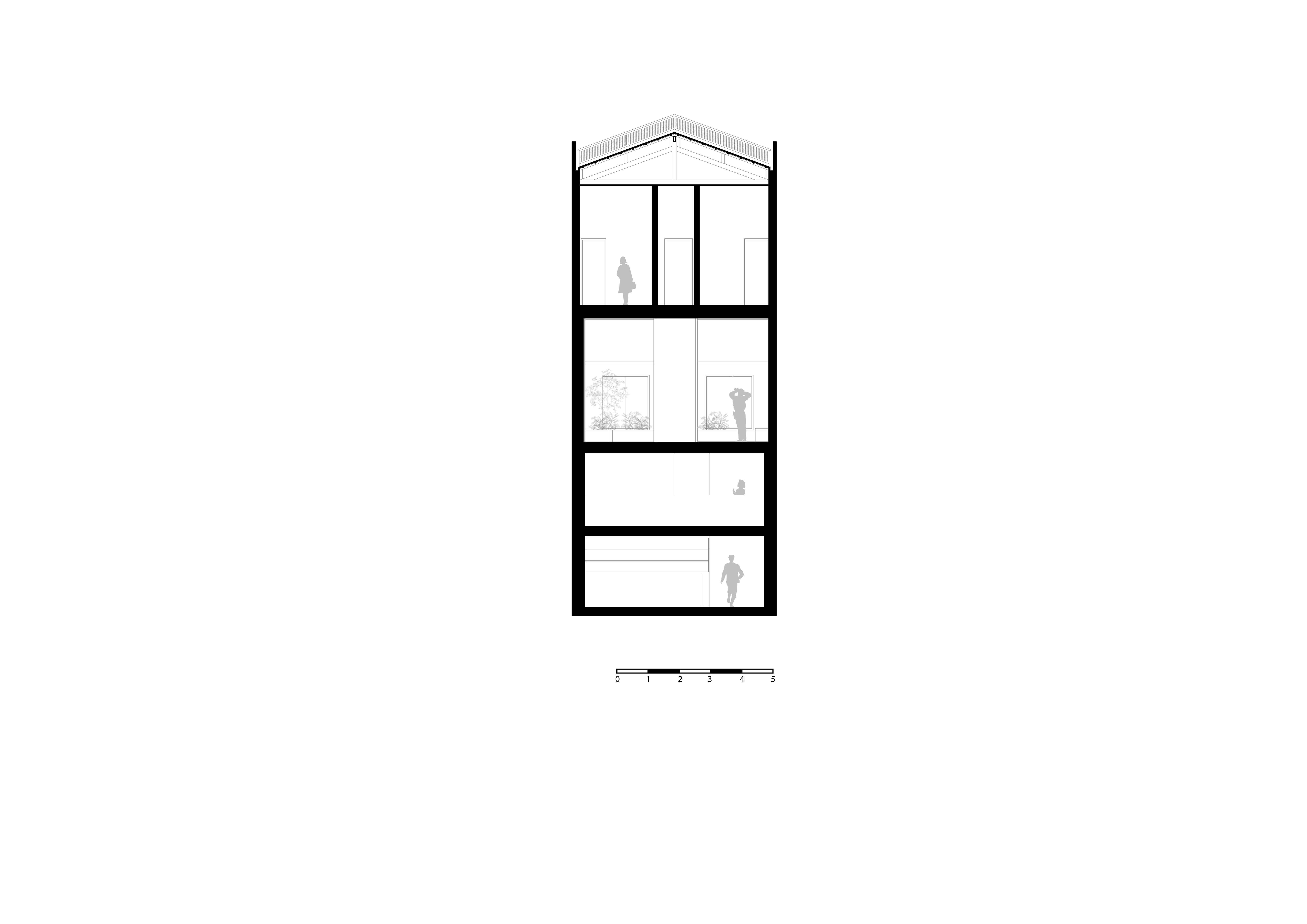 Projeto de Arquitetura Hostel - Zona