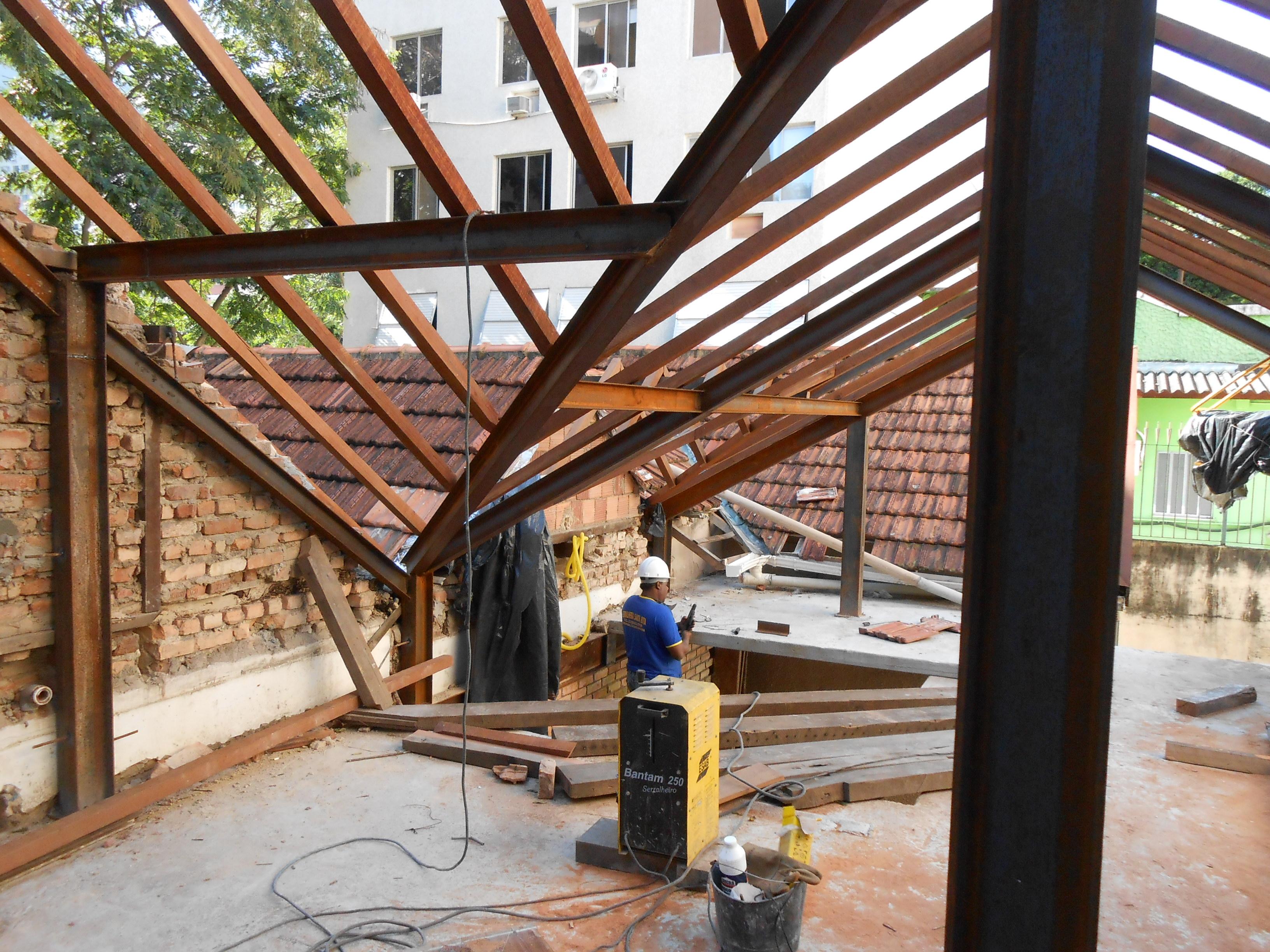 Restauro Telhado Original - Sótão