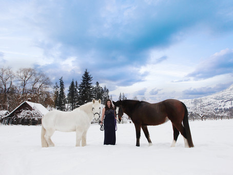 Okanagan Equine Maternity Session