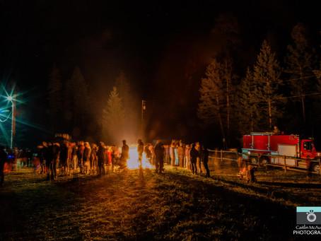 Firemen & Fireworks in Silver Creek