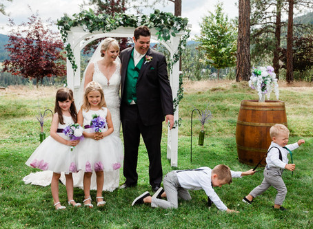A grateful wedding photographer!