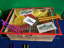 Burnside KinderGym term theme fun with imaginative play and fine motor skills