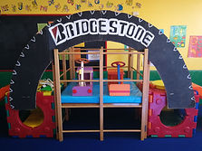 Burnside KinderGym term theme fun with imaginative play and fine and gross motor skills