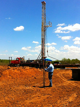 South Texas Well Staking
