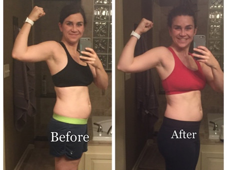 CORE DE FORCE - 2 WEEKS IN (BEFORE AND AFTER)