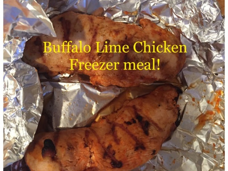BUFFALO LIME CHICKEN: A GREAT FAMILY MEAL