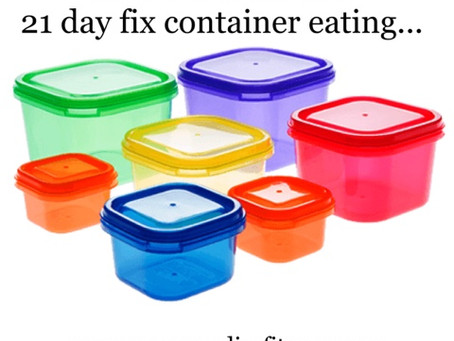 TIPS FOR YOUR FIRST BEACHBODY CONTAINER BASED EATING PLAN