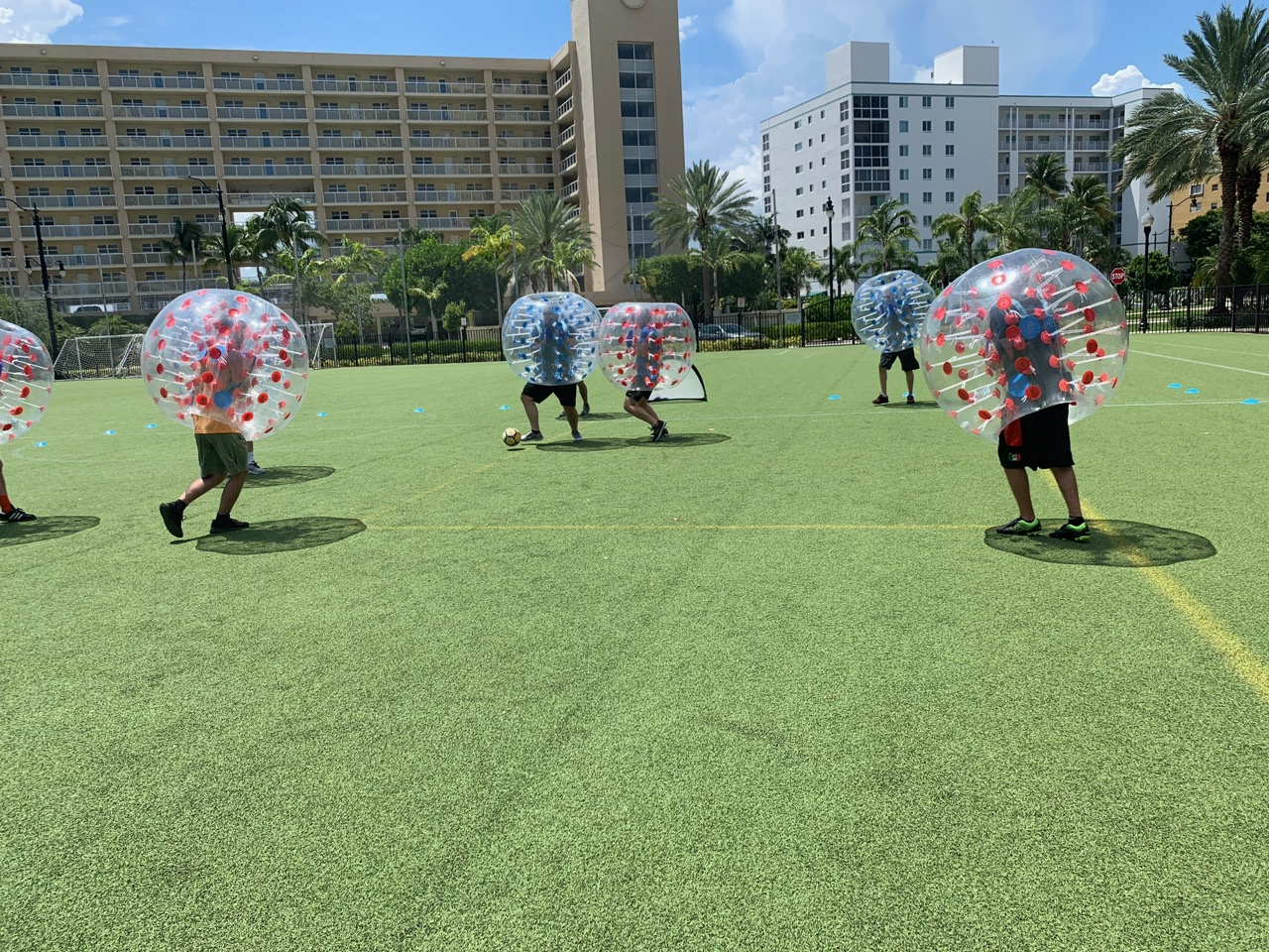 Bubble Soccer Rental Florida - Birthday