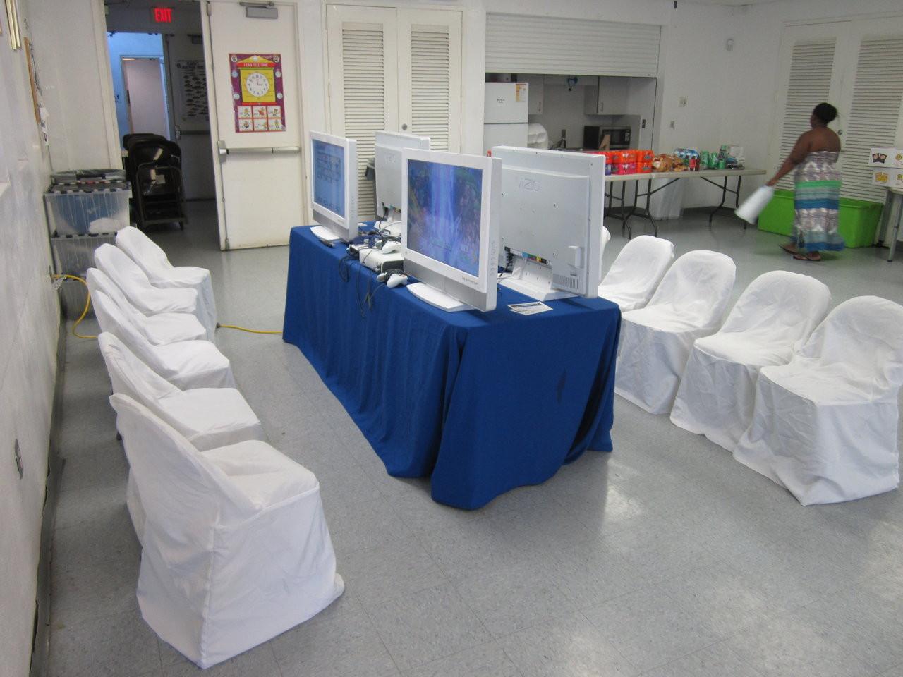 Indoor Video Game Party