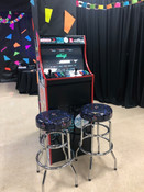 2 Player Video Game Arcade Rental Stand