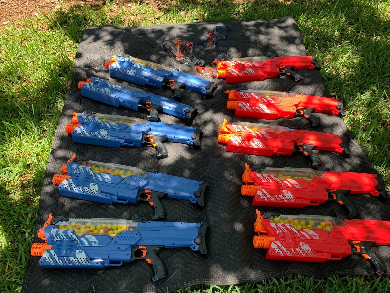 NERF Gun Rentals Florida - Party Rentals