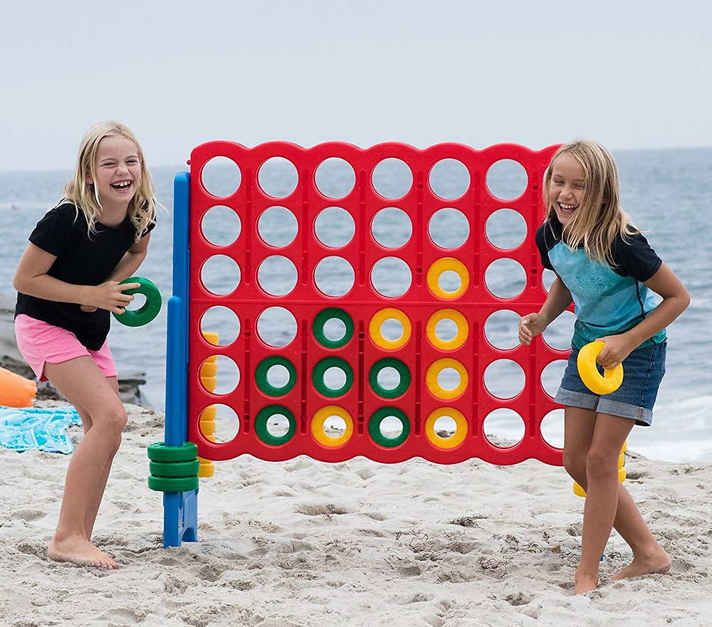 Jumbo Connect 4 Party Rental