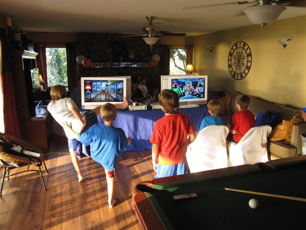 16 Player Video Game Party