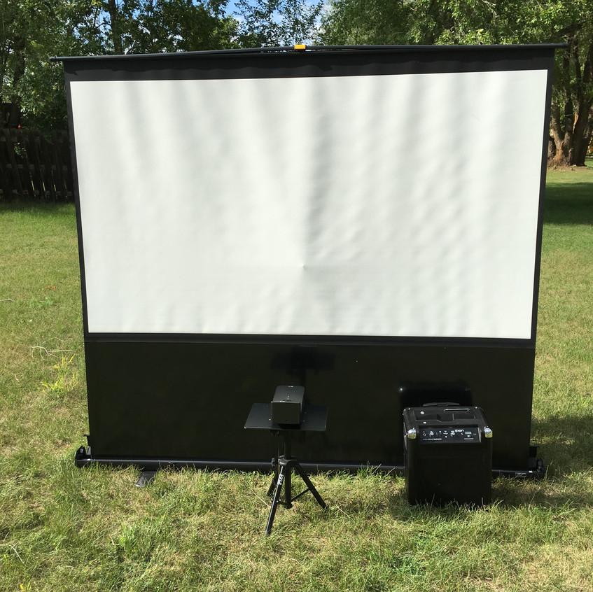 Projector Setup Bar Mitzvah