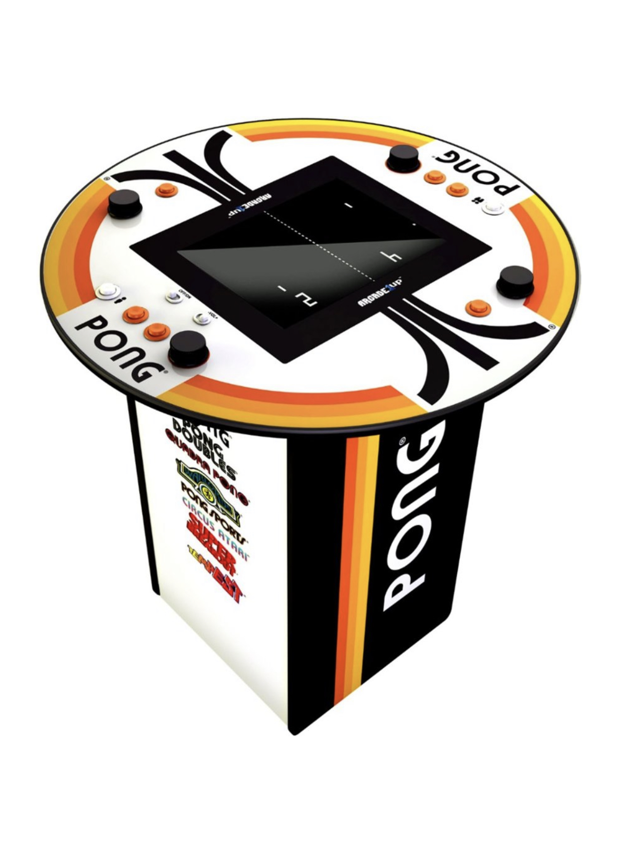 4 Player Pong Arcade - Corporate Event R