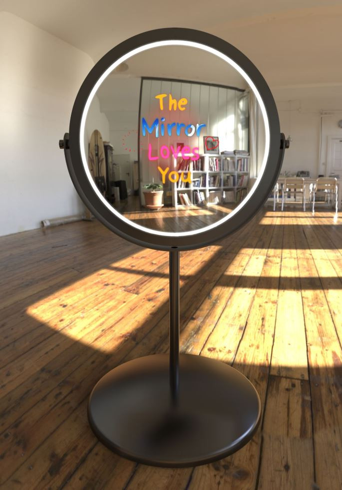 Beauty Dish Mirror Booth - Event Rentals - Fort Lauderdale 786-423-8759