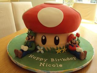 Custom Video Game Cakes Bakery - South Florida - 786-423-8759
