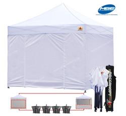 10 x 10 White Tent Rental - Party Rental Services - Miami 786-423-8759