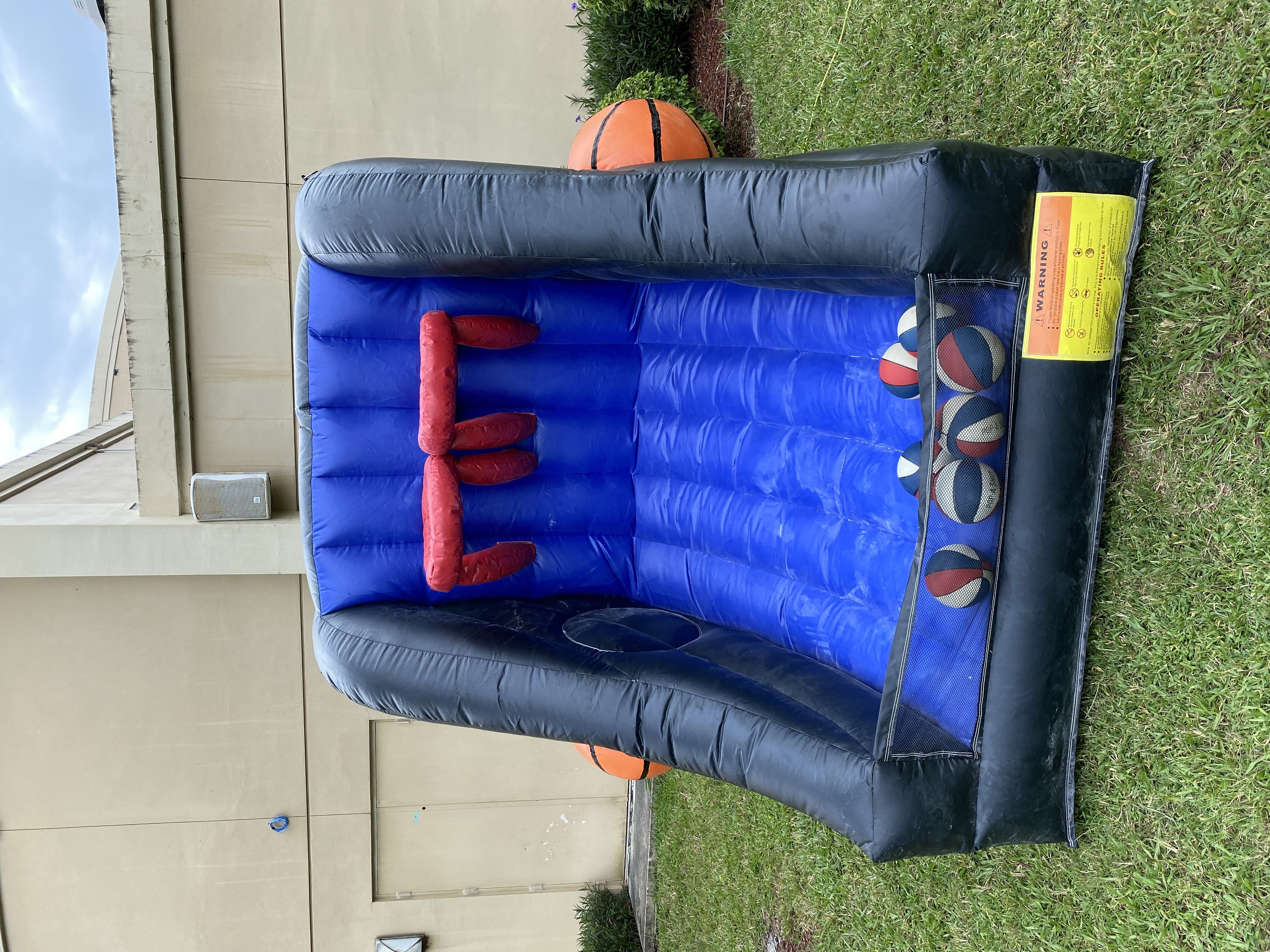 Inflatable 2 Player Basketball Rental Fl