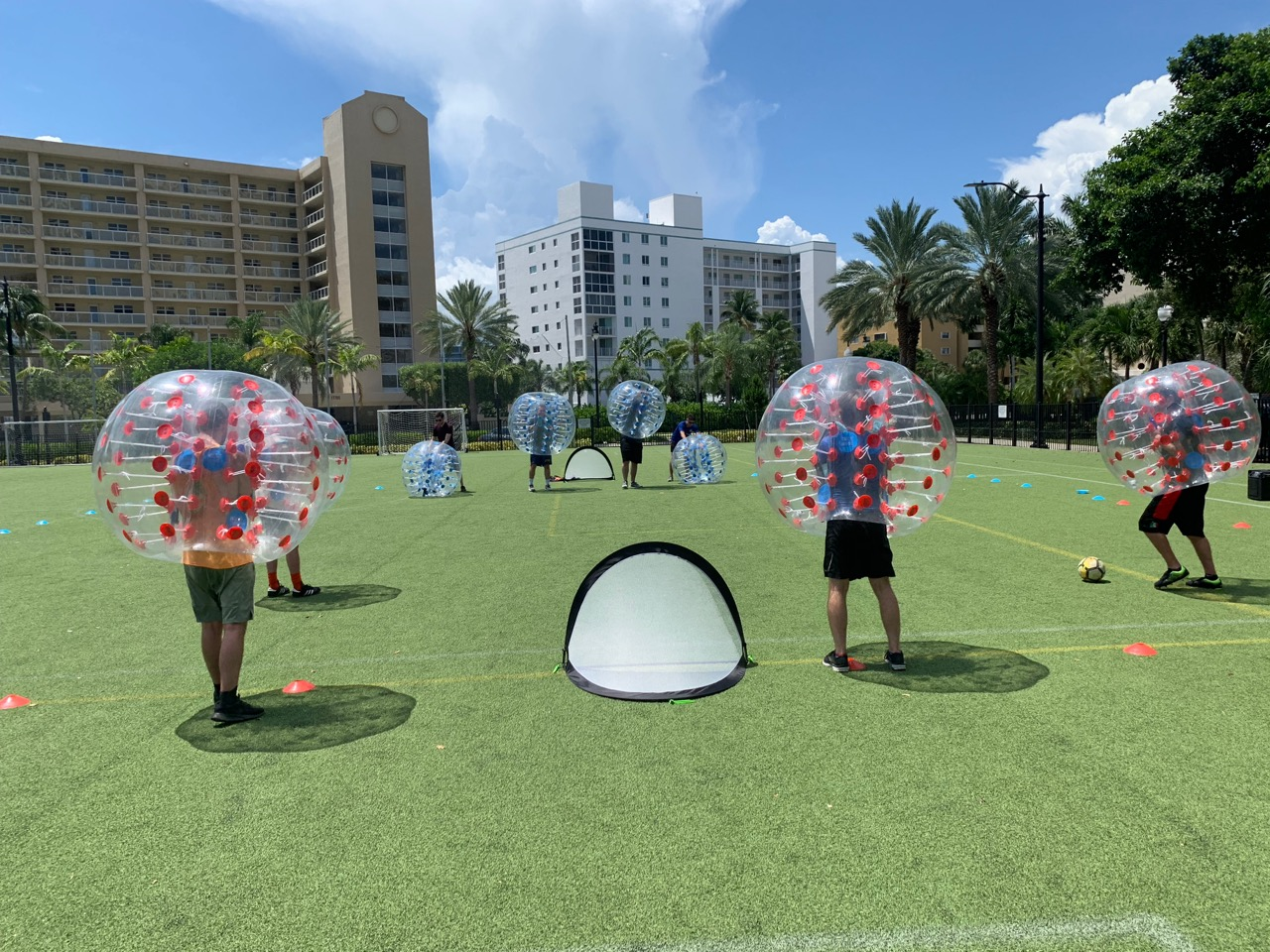 Bubble Soccer Rental Florida - Corporate