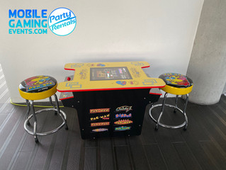 Pac-Man arcade rentals South Florida